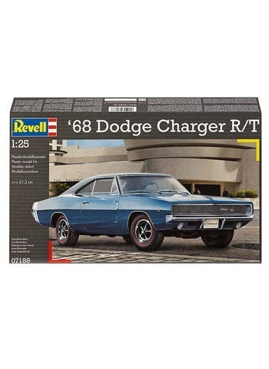Revell  Maket 1968 Dodge Charger 07188 Renkli